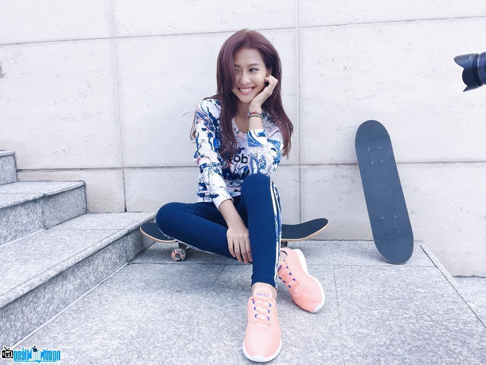 Khả Ngân-Hot girl sinh ở Hồ Chí Minh- Việt Nam