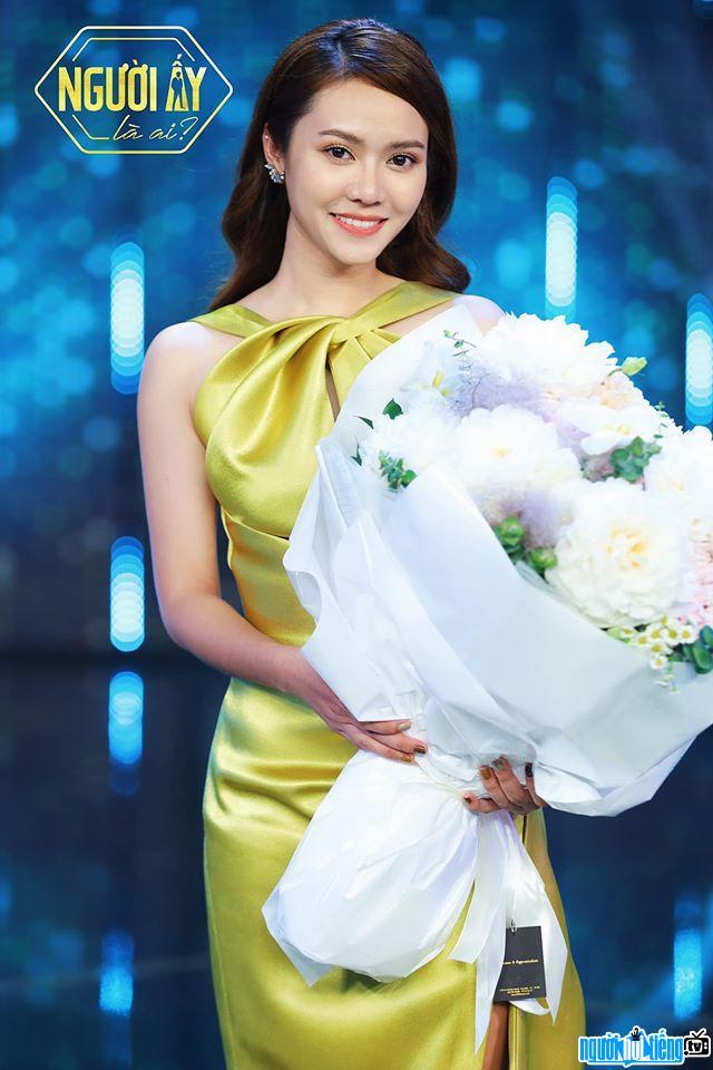 Thiên Tâm xinh đẹp tham dự chương trình NALA