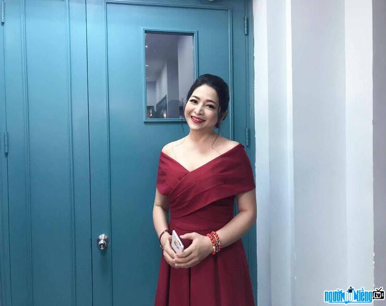 Một hình ảnh mới nhất về MC Quỳnh Hương
