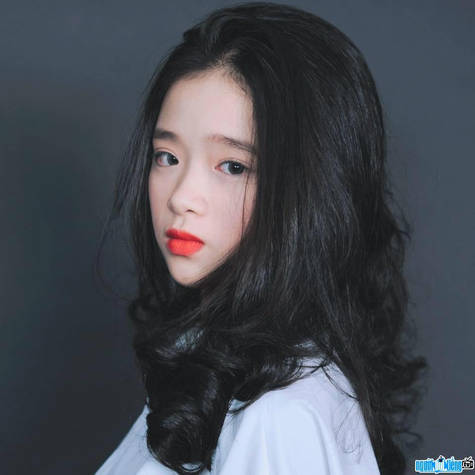 Một bức ảnh mới về hot girl Linh Ka