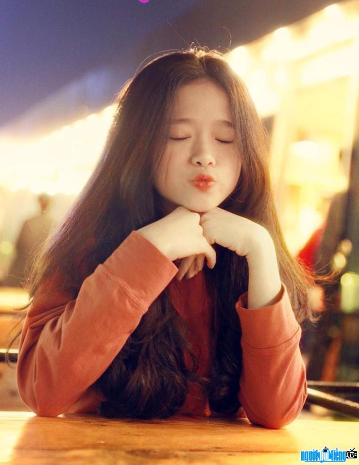 Một bức ảnh đáng yêu của hot girl Linh Ka