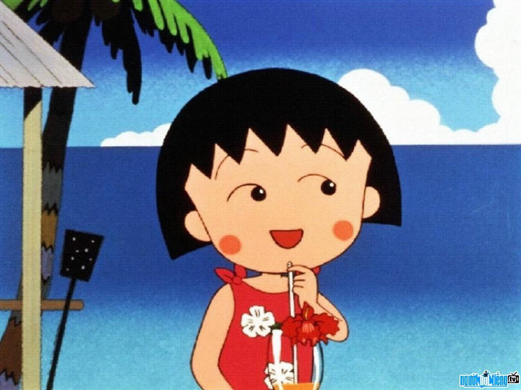 Chân dung nhân vật hoạt hình Maruko