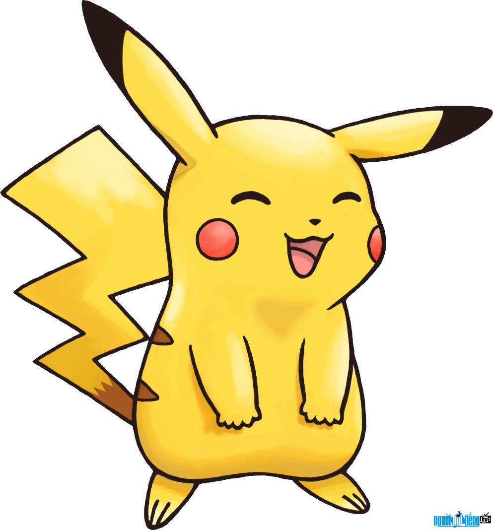 Vẻ đáng yêu của nhân vật Pikachu