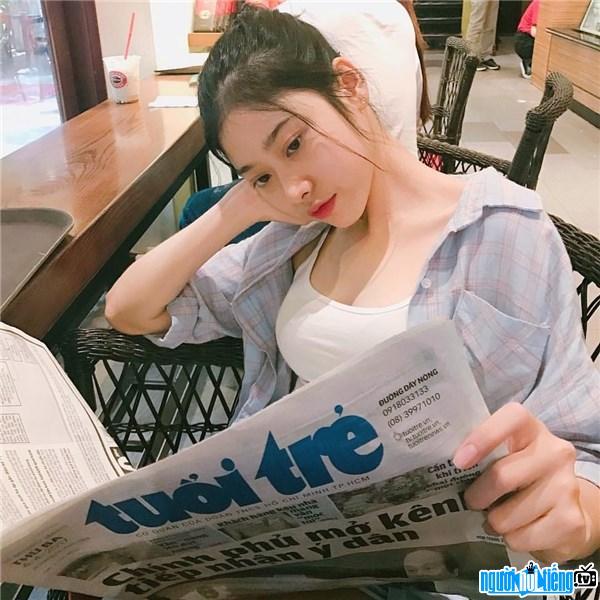 Hot girl Thái Ngọc San sở hữu gương mặt đẹp cùng vóc dáng chuẩn