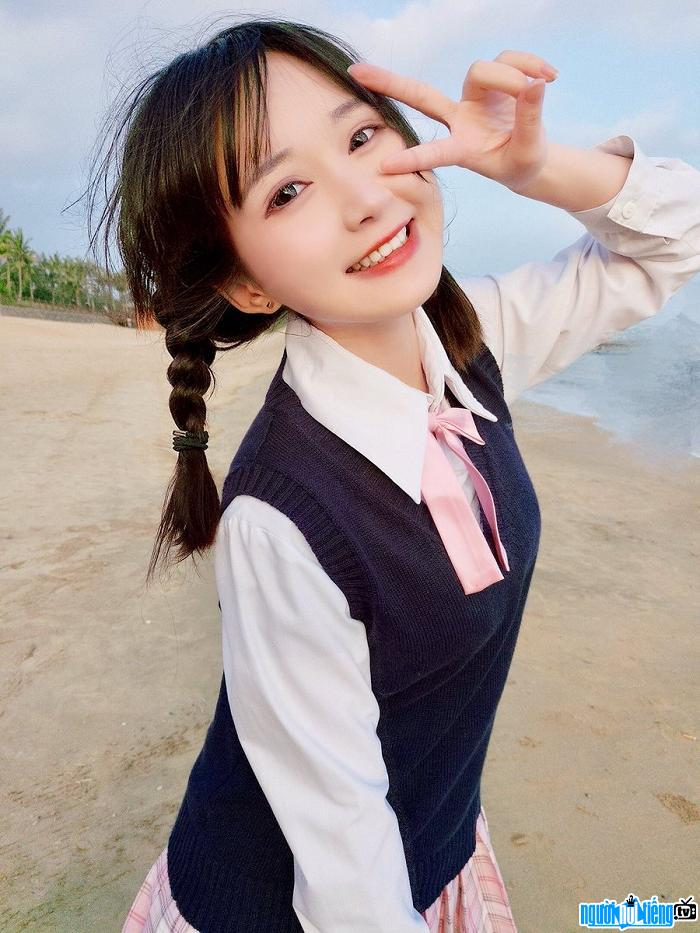 Aliga thiên thần cosplay Trung Quốc