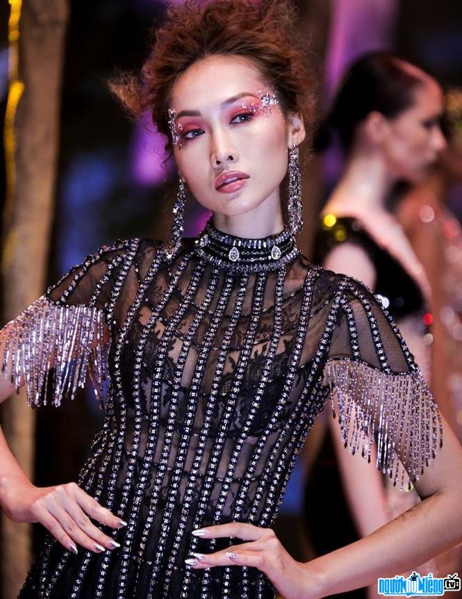 Bức ảnh mới nhất về người mẫu Tô Uyên Khánh Ngọc