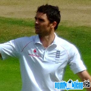 Ảnh VĐV cricket James Anderson