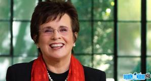 Ảnh VĐV tennis Billie Jean King