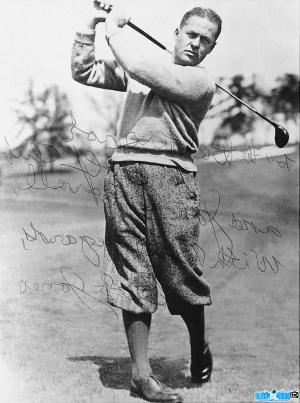 Ảnh VĐV golf Bobby Jones