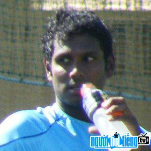 Ảnh VĐV cricket Angelo Mathews