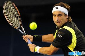 Ảnh VĐV tennis David Ferrer