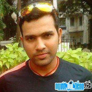 Ảnh VĐV cricket Rohit Sharma